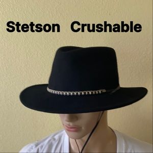 Stetson Crushable Wool Felt Hat